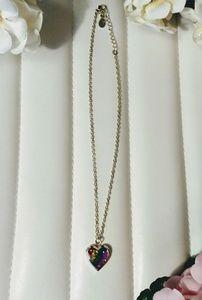 Jewelry - Rainbow locket necklace